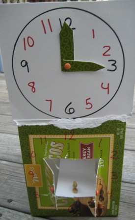 Recycled clock craft