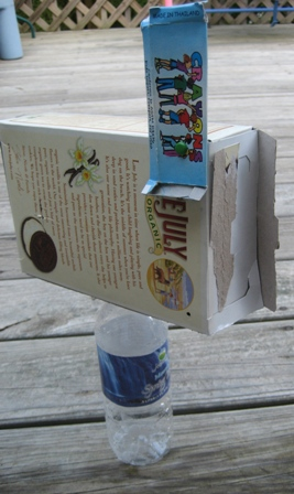 Recycled mail box craft