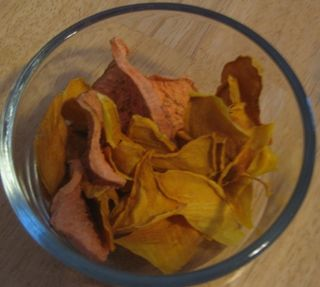 Squash and potato chips