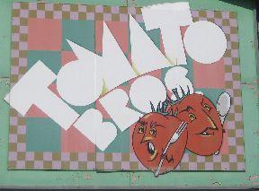 Tomato Bros Sign