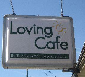 Loving_cafe sign