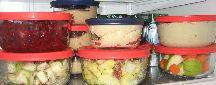 Preprepped food shelf