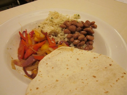 Mexi veggie food
