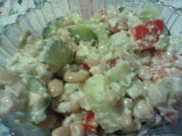 Mish Mosh Bean Salad