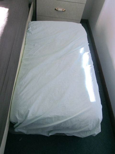 Dog bed ottoman