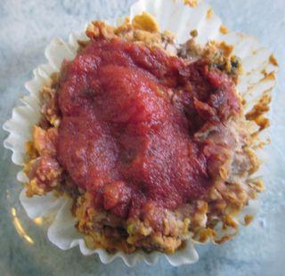 Vegan loaf cupcake